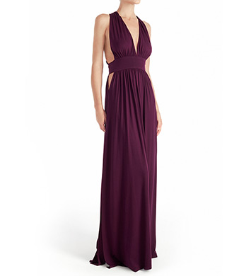 Naked Princess Micromodal Signature Maxi Gown