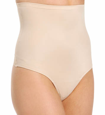 Naomi & Nicole Soft and Smooth Hi Waist Thong