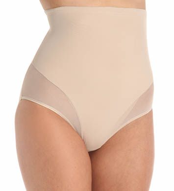Naomi & Nicole Sheer Sensual Shaping Hi Waist Brief