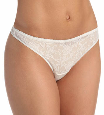 Naomi & Nicole Wonderful Edge Lace Front Thong