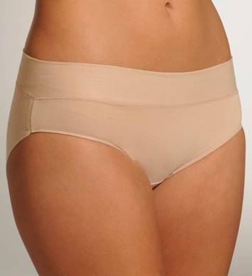 Naomi & Nicole Wonderful Edge Wide Band Cotton Hipster Panty