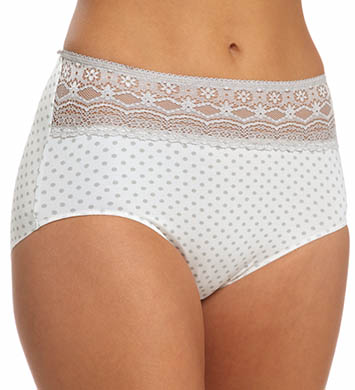 Naomi & Nicole Wonderful Edge Lace Trim Modern Panty