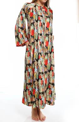 Natori Sleepwear Dynasty Zip Caftan
