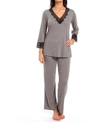 Natori Sleepwear Lhasa Longsleeve Pajama Set