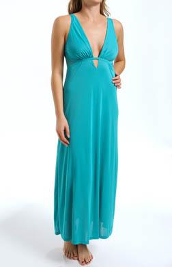 Natori Sleepwear Aphrodite Solid Slinky Gown