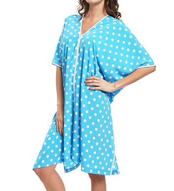 Natori Sleepwear Dots Printed Caftan