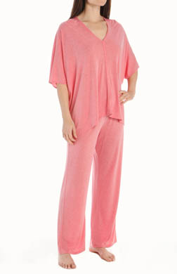 Natori Sleepwear Shangri-La Solid Tunic Pajama Set