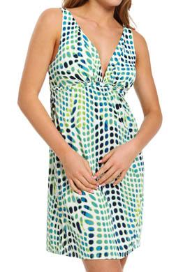 Natori Sleepwear Kismet Printed Slinky Knit Chemise