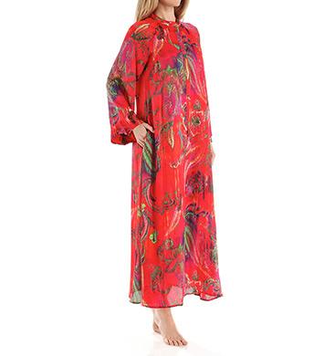 Natori Sleepwear Katerina Printed Georgette Caftan