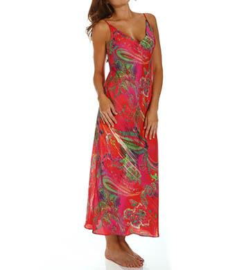 Natori Sleepwear Katerina Printed Georgette Gown