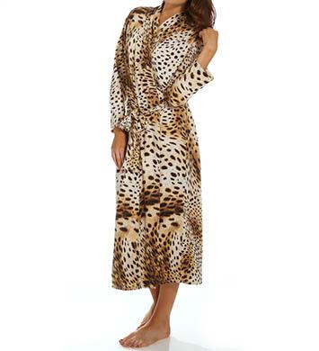 Natori Sleepwear Gabon Printed Georgette Robe