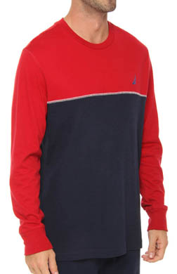 Nautica Colorblock Knit Crew