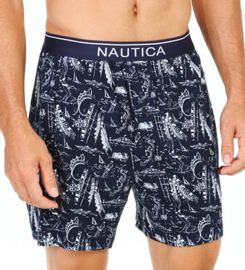 Nautica Knit Boxer Short