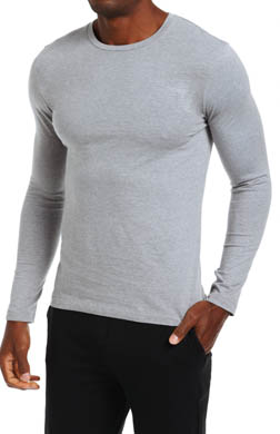 Nero Perla Studio LP Long Sleeve Crew Neck T-Shirt