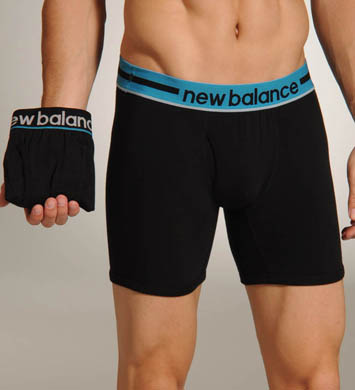 New Balance Boxer Briefs w/ Turkish Tile Waistband - 2 Pack