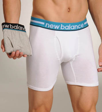 New Balance Turkish Tile Waistband Boxer Briefs - 2 Pack