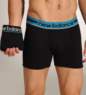 New Balance Turkish Tile Contrast Waistband Trunks - 2 Pack