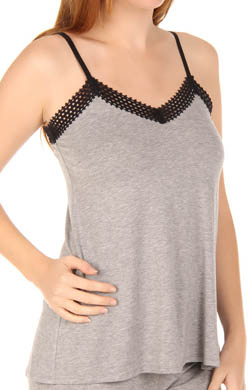 Nicole Miller Touch Of Lace Trim Cami