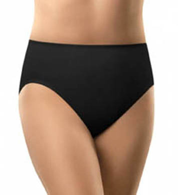 Olga Light Shaping Hi-Cut Brief Microfiber Panty