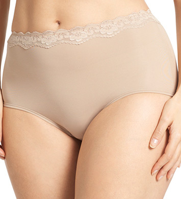 Olga Without A Stitch Lace Brief Panty- 3 Pack