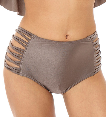 O'Neill Lux Solids High Waist Swim Bottom