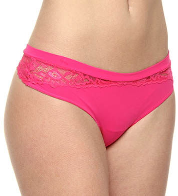 OnGossamer Luxe Lace And Micro Thong