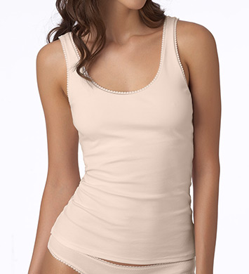 OnGossamer Cabana Cotton Shelf Bra Tank