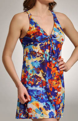 OnGossamer Tropical Getaway Mesh Empire Nightie