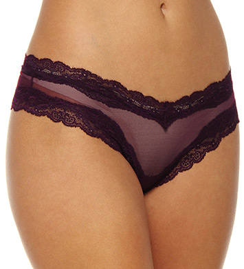 Only Hearts Whisper Italian Net Brazilian Lacy Bikini Panty