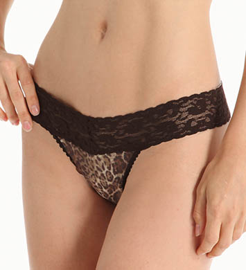 Only Hearts Leopard Lace Thong - 4 Pack
