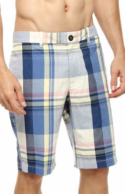 Original Penguin Blown Out Plaid Short