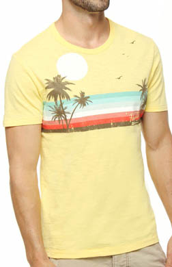 Original Penguin Sunset Crewneck Graphic Tee