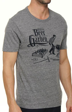 Original Penguin Crewneck Beer Garden Graphic Tee