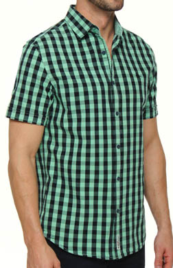 Original Penguin Short Sleeve Garment Dye Heritage Fit Shirt