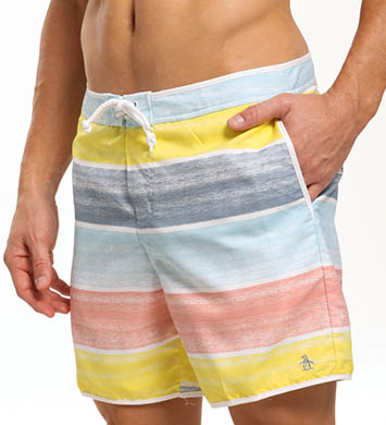 Original Penguin Cloud Stripe Volley Swim Short