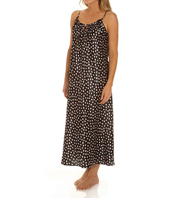 Oscar De La Renta Dots Long Gown