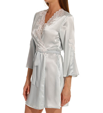 Oscar De La Renta Evening Bliss Short Robe