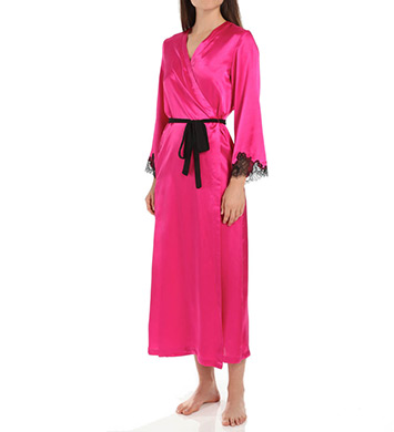 Oscar De La Renta Blush Long Robe
