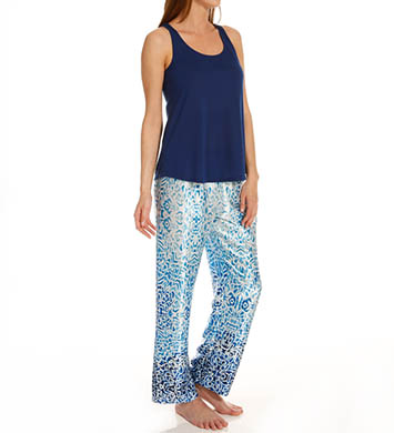 Oscar De La Renta Modern Essentials Ocean Breeze PJ Set