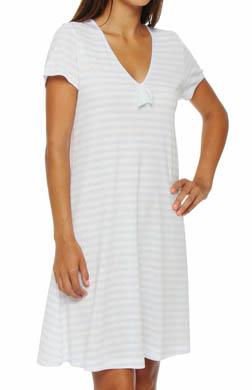 P-Jamas Pleno Verano Short Sleeve Gown
