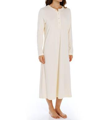 P-Jamas 48 Henley Long Gown