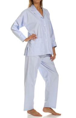 P-Jamas Summer Tattersall Pajama