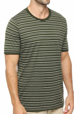 Pact Duffle Bag Stripe Crew Neck T-Shirt