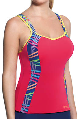 Panache Sports Vest Tank With Built In Bra