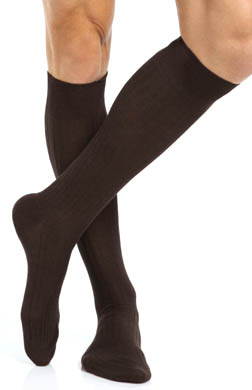 Pantherella Cotton Lisle Over The Calf Sock