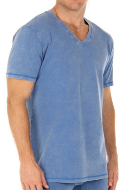 Papi Mineral Wash V-Neck T-Shirt