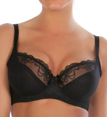 Parfait by Affinitas Donna Sheer 3-Part Cup Underwire Bra