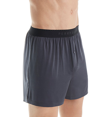 Perry Ellis Luxe Solid Boxer Short