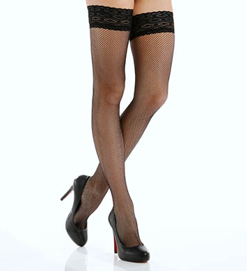 Philippe Matignon Thigh High Fishnet Hosiery