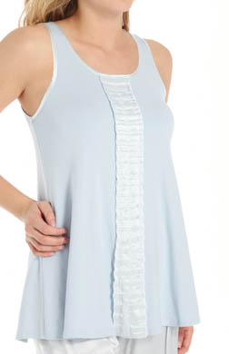 PJ Harlow Alyssa Long Tank with Ruffle